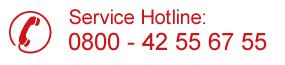 Service Hotline: 080042556755