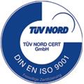 Zertifizierung emäß TÜV NORD CERT-Varfahren
