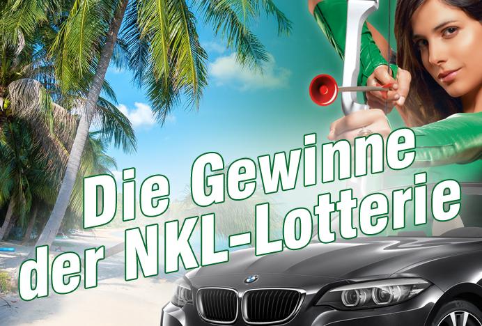 NKL Klassenlotterie Gewinnübersicht