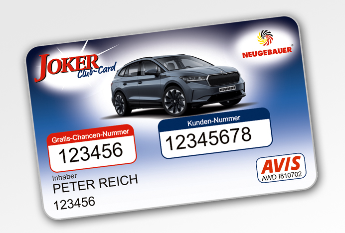 SKL Joker Club-Card