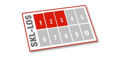 Los-Anteile gleicher Los-Nummer